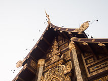 Traditional thai architecture in the Lanna style, Ratchaphruek G Royalty Free Stock Photos