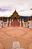 Traditional thai architecture in the Lanna style Stock Image