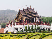 Traditional thai architecture , Royal Pavilio Stock Image