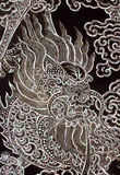 Traditional Thai art in Chinease style Stock Photos