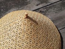 Traditional Thai basketwork - mesh food cover Royalty Free Stock Image
