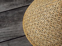 Traditional Thai basketwork - mesh food cover Stock Images