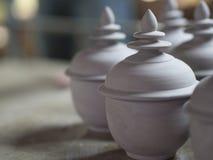 A traditional Thai Benjarong, ceramic, Thailand Stock Photography