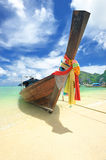 Traditional Thai boat Royalty Free Stock Photo