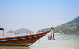 Traditional Thai Boat Royalty Free Stock Photos