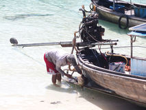 Traditional Thai Boat Stock Images