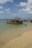 Traditional Thai boat on Ko Lanta, Thailand Stock Photography