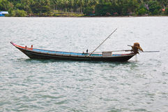Traditional thai boat  in Thailand. Royalty Free Stock Photos