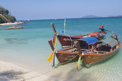 Traditional Thai boats Royalty Free Stock Photo