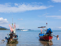 Traditional thai boats Stock Image