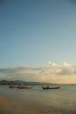 Traditional Thai boats near the beach Royalty Free Stock Photos