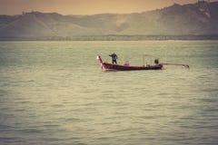 Traditional thai boats in  Phang nga,Phuket, Thailand Royalty Free Stock Photography