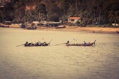 Traditional thai boats in  Phang nga,Phuket, Thailand Stock Photo