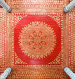 Traditional Thai ceiling Royalty Free Stock Images