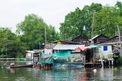Traditional Thai community in Bangkok Stock Images