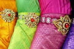 Traditional thai dance dress Stock Photos