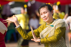 Traditional thai dancer Royalty Free Stock Image