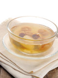 Traditional thai dessert, fruit in syrup Royalty Free Stock Photos