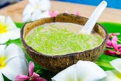 Free Traditional Thai Dessert Lot Chong Royalty Free Stock Photo - 120620425