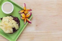 Traditional Thai Dessert / Thai Dessert Background Stock Image