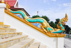 Traditional Thai dragon Royalty Free Stock Photography