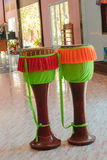 Traditional Thai Drum Royalty Free Stock Photos