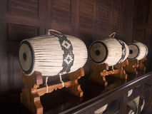 Traditional Thai drums Royalty Free Stock Images