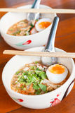 Traditional thai egg noodle. Thai Food. Royalty Free Stock Photography