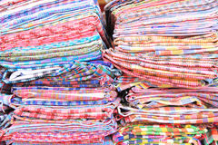 Traditional thai fabric cloth Royalty Free Stock Photos