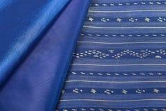 Traditional Thai fabric pattern Stock Photos