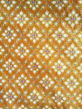Traditional Thai fabric pattern royalty free stock images