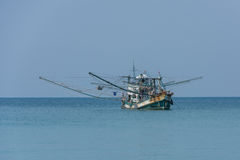 Traditional thai fishing boat, Koh Kood island, Thailand Stock Image