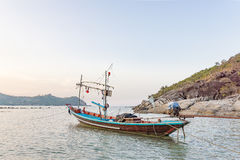 Traditional thai fising boat Royalty Free Stock Photography