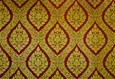 Traditional Thai floral pattern Royalty Free Stock Images