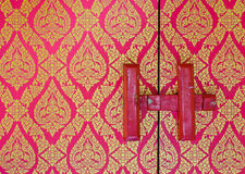 Traditional Thai floral pattern Stock Photo