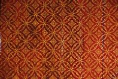 Traditional thai flower pattern Stock Photos