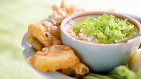 Traditional thai food carb paste Royalty Free Stock Photo