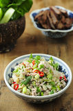 Traditional Thai food,Larb Royalty Free Stock Photos