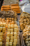 Traditional Thai food sold on local street market Stock Image