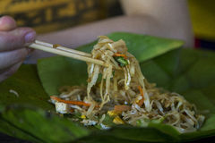 Traditional Thai food style stock image