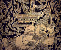 Traditional thai Giant pattern Stock Images