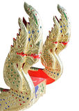 Traditional Thai golden dragon Royalty Free Stock Photo