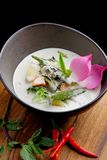 Traditional thai green curry Royalty Free Stock Images