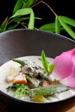 Traditional thai green curry Royalty Free Stock Image