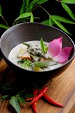 Traditional thai green curry Stock Photo