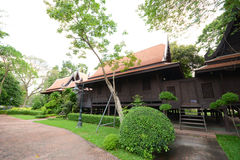 Traditional Thai House Stock Image