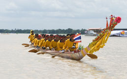 Traditional Thai long boat Stock Images