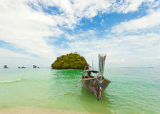 Traditional Thai long tail boat with Royalty Free Stock Image