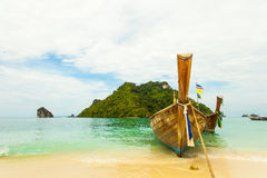 Traditional Thai long tail boat with Stock Images
