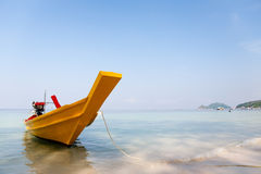 Traditional Thai Longtail Boat Royalty Free Stock Photography